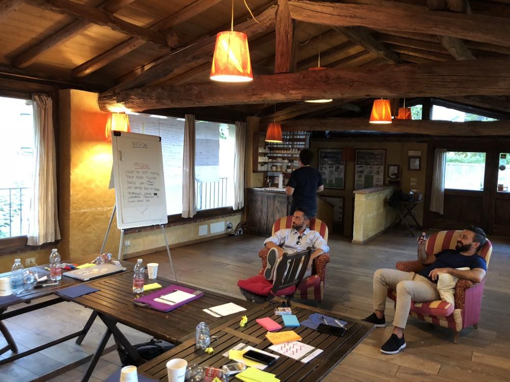 sparkfabrik brainstorming